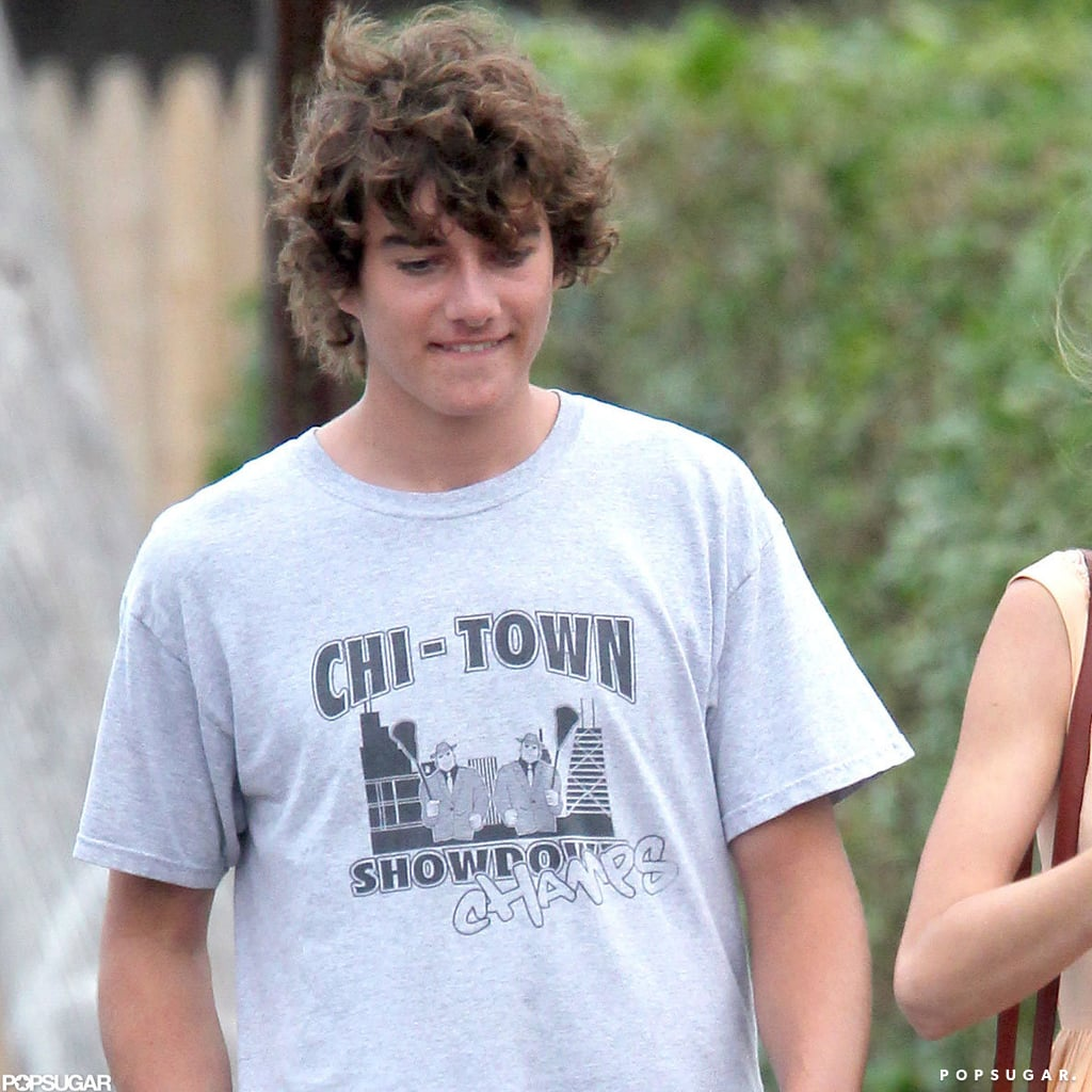 Conor Kennedy went out in Hyannis Port.