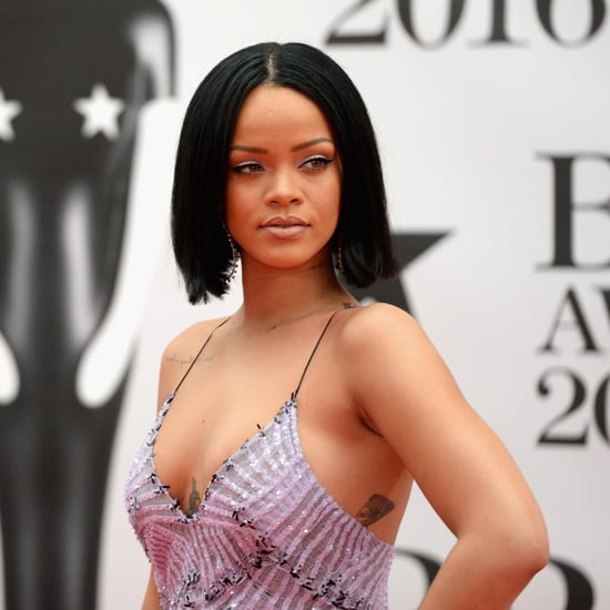 Rihanna's Armani Dress at the Brit Awards 2016
