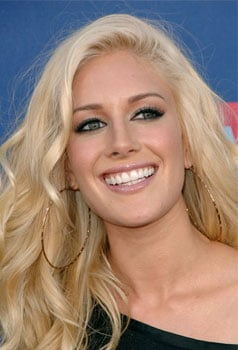 Heidi Montag at MTV VMA's: Hair and Makeup