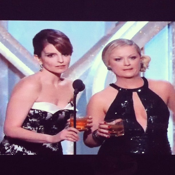 Tina Fey and Amy Poehler absolutely owned the Golden Globes. We're still laughing!