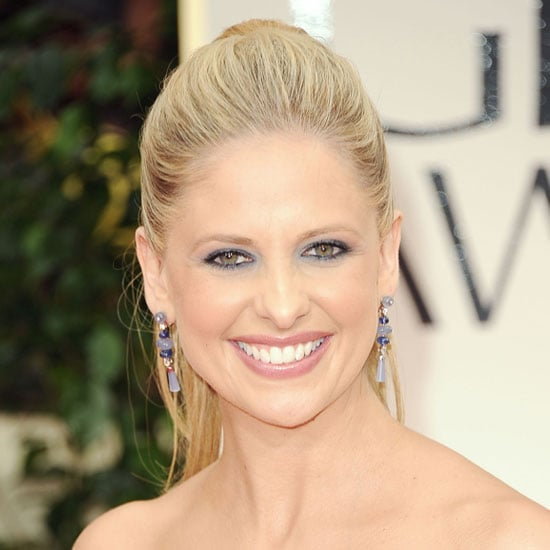 Sarah Michelle Gellar's Blue-on-Blue Makeup