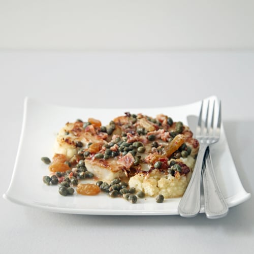 Cauliflower Steaks With Pancetta and Capers