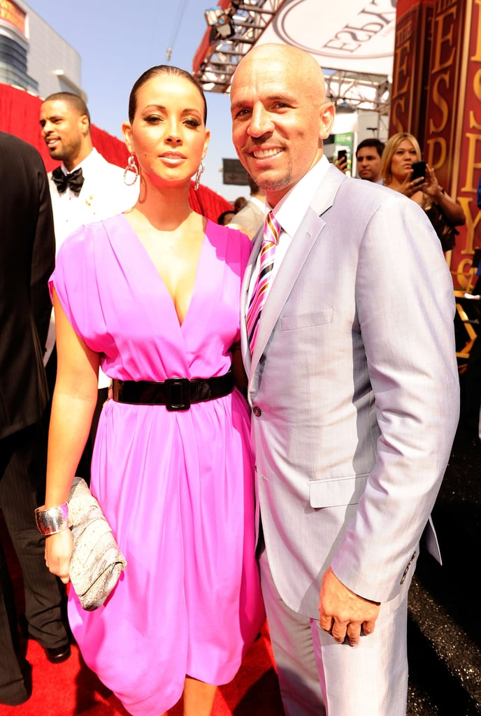 NBA star Jason Kidd suited up for the event.