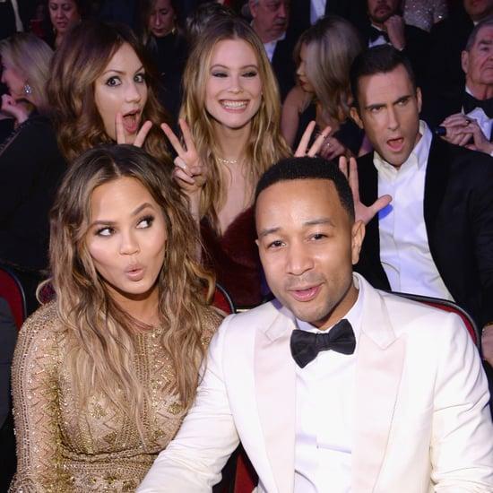 John Legend and Chrissy Teigen All-Star Grammy Concert 2015