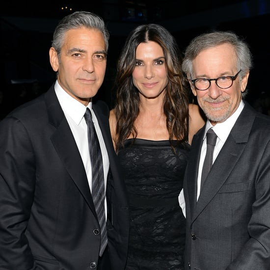 George Clooney Photobombing Jerry Seinfeld | Pictures