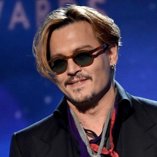 Johnny Depp at the Hollywood Film Awards 2014 | Video
