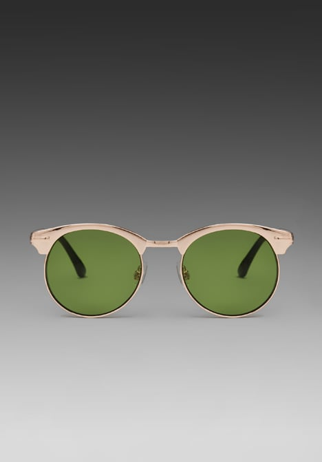 The gold metal frames deliver glam in the most laid-back way possible.  Spitfire Autotuner Sunglasses ($35)