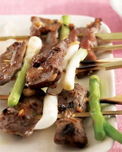 Korean Beef Kebab Recipe