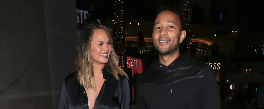 Chrissy Teigen Shows Some Serious Leg During Her Date Night With John Legend