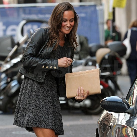 Pippa Middleton Pictures Getting Into Her Car in London