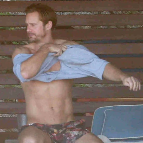 Alexander Skarsgard Shirtless in Mexico November 2015