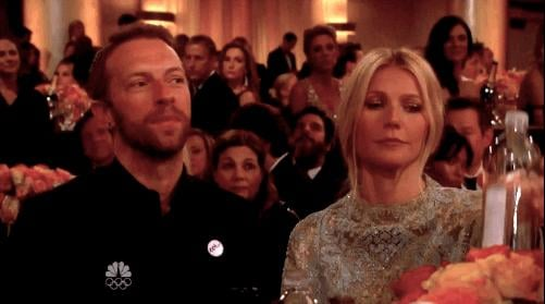 Gwyneth Paltrow and Chris Martin Were There