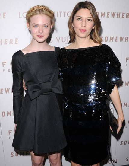 Pictures of Elle Fanning, Sofia Coppola, and Stephen Dorff at the LA Premiere of Somewhere