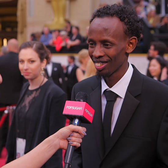 Barkhad Abdi Interview on the Oscars Red Carpet | Video