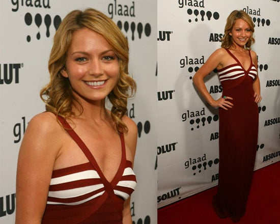 GLAAD Awards Red Carpet: Becki Newton