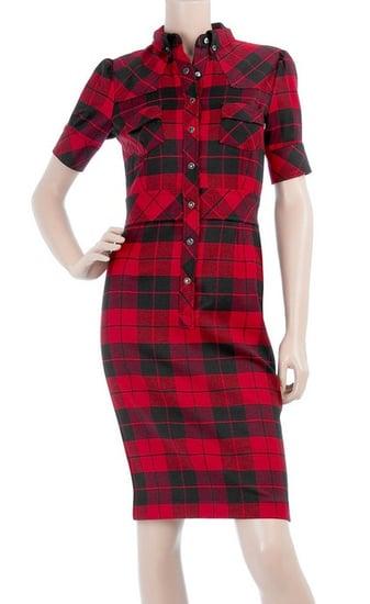 D&G Dolce & Gabbana Plaid Shirtdress: Love It or Hate It?