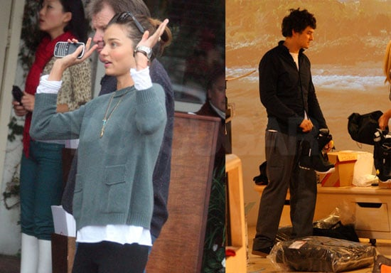Photos of Orlando Bloom and Miranda Kerr Shopping in LA