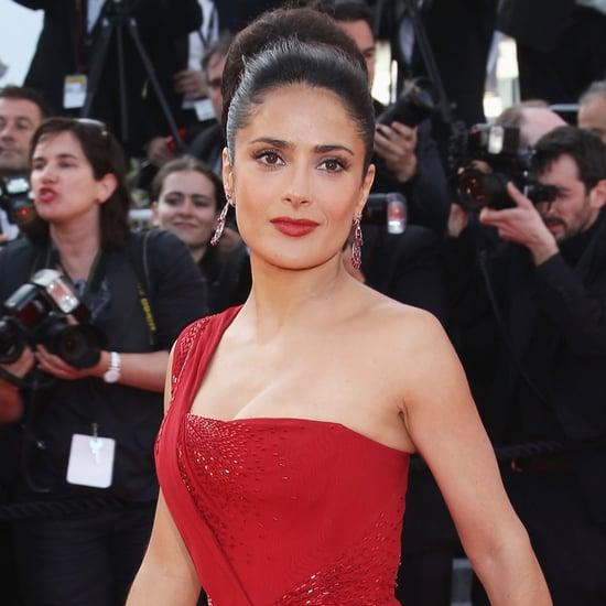Salma Hayek's Sexiest Dresses
