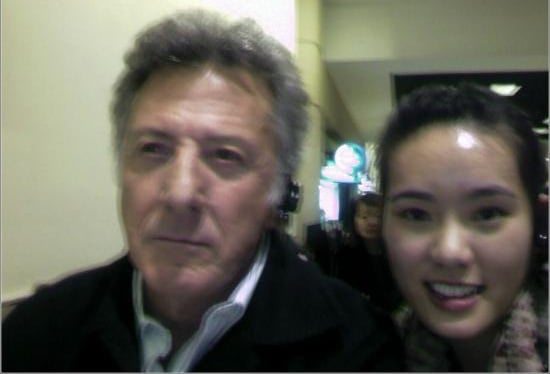 Celebrity Sighting: Layover with Dustin Hoffman