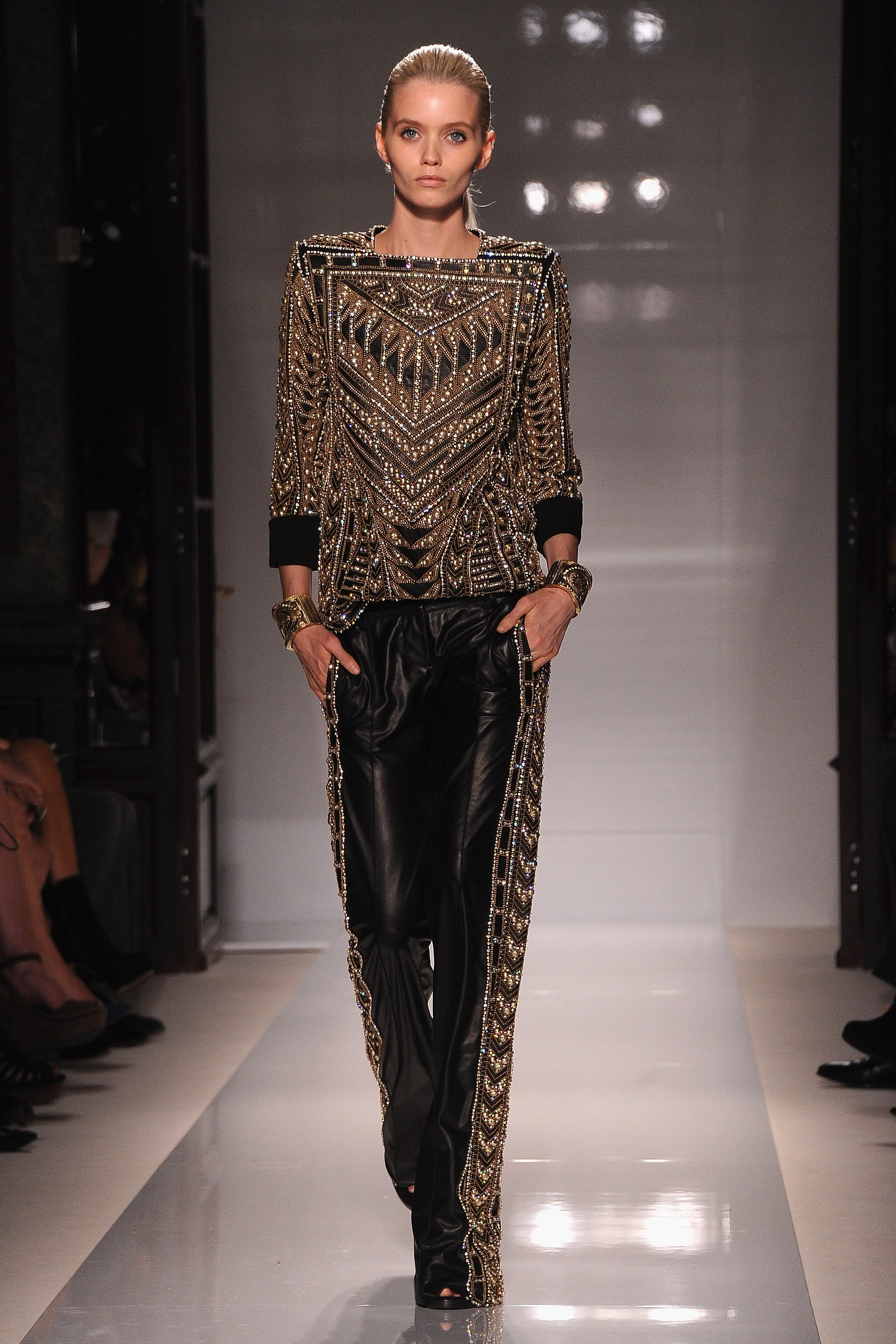 Review and Pictures of Balmain Runway Show at 2012 Spring ...