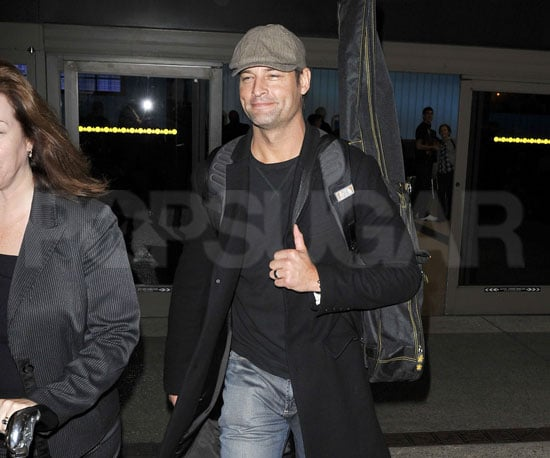 Slide Picture of Josh Holloway Returning to LA
