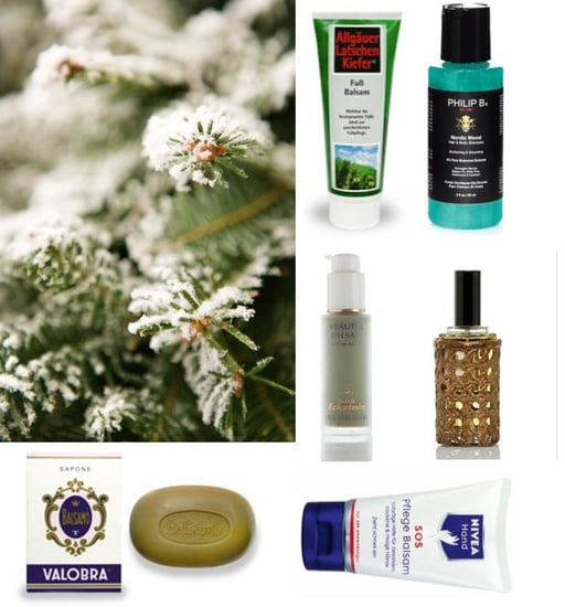 New Balsam-Scented Bath and Beauty Products For Holiday 2010