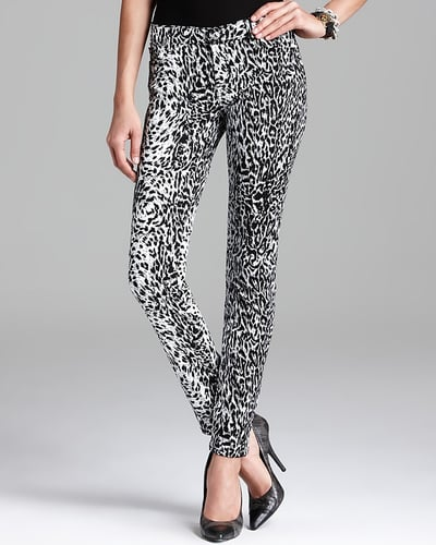 7 For All Mankind Jeans - The Skinny in Snow Leopard Print