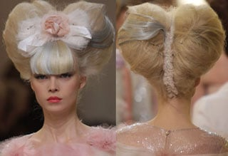 Hair at Chanel Haute Couture Spring 2010 2010-01-26 13:00:11