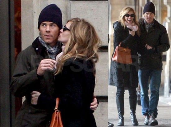 Photos of Julia Roberts and Danny Moder Visiting Paris Together