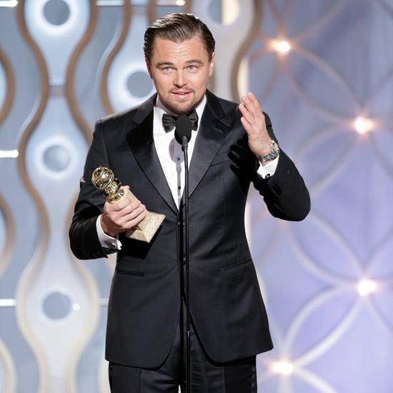 Leonardo DiCaprio Wins Golden Globe for Wolf of Wall Street