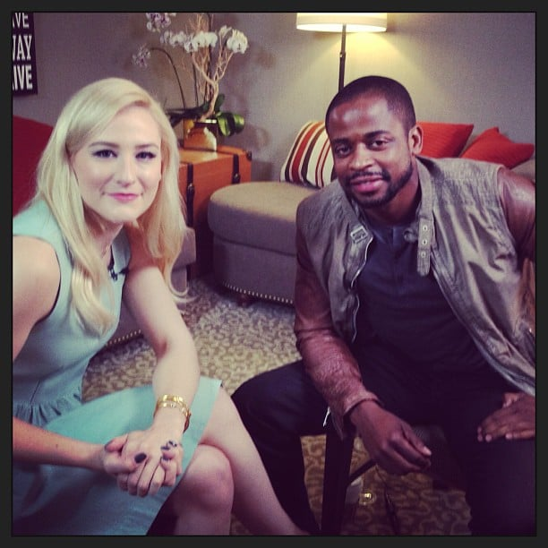 We caught up with Dulé Hill before the 100th episode of Psych. Source: Instagram user POPSUGAR