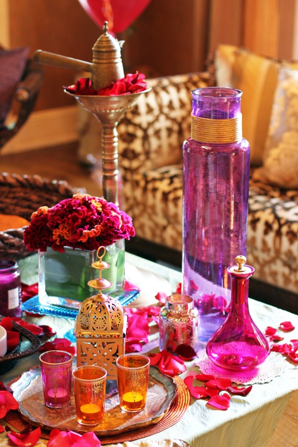 moroccan display an exotic moroccan inspired baby shower popsugar