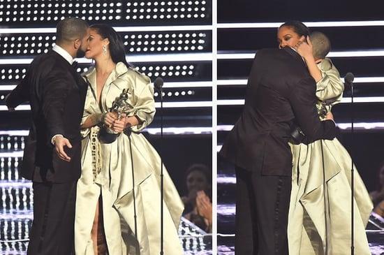 It Kinda Looks Like Rihanna Curved Drake After He Tried To Kiss Her