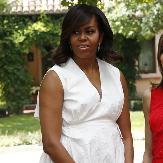 Michelle Obama Delpozo Dress in Spain June 2016