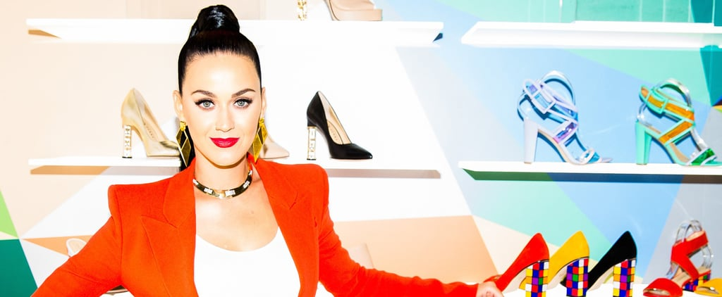 You Can Totally Tell Katy Perry Designed These Technicolor Shoes