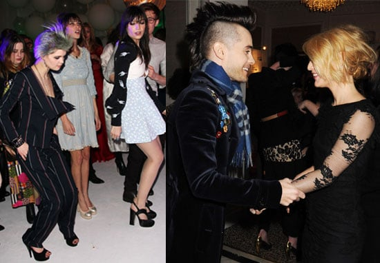 Photos of Elle Style Awards Afterparty with My So-Called Life Reunion Between Jared Leto and Claire Danes, Alexa Chung Dancing 2010-02-23 16:00:20
