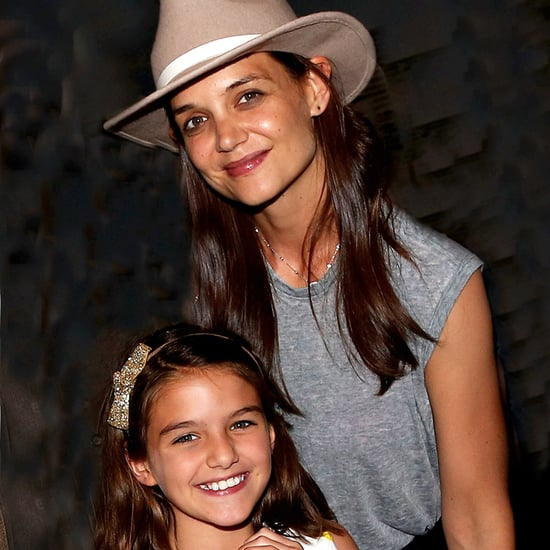 Katie Holmes and Suri Cruise at Finding Neverland Play 2016