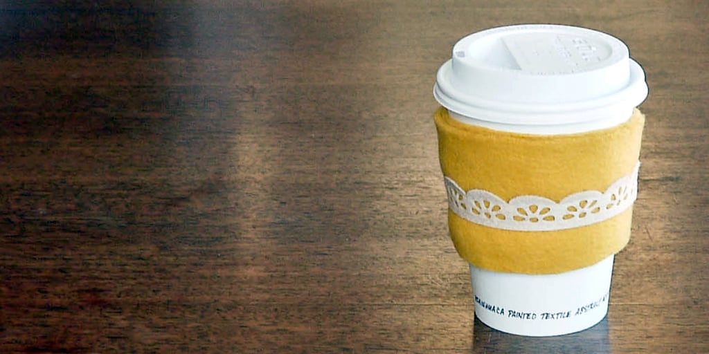 Cozy Up With These Easy Hot Cup Sleeves
