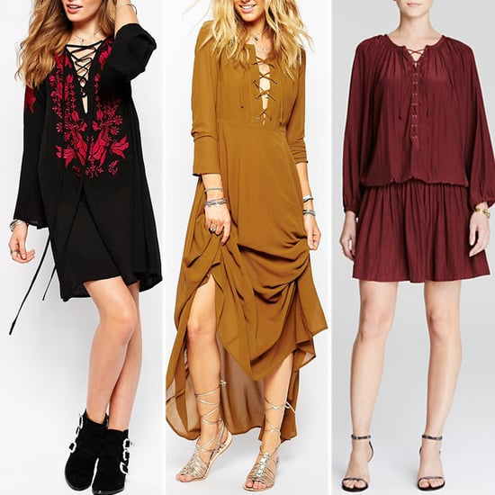Best Lace-Up Dresses and Tops For Autumn