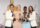McConaughey, Blanchett, Nyong'o, and Leto had a picture-perfect moment.