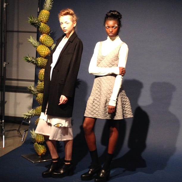 The Creatures of Comfort collection got a hint of schoolgirl attitude from fit-and-flare dresses.