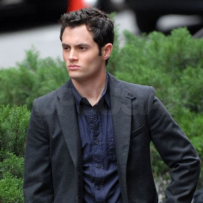 Penn Badgley Films Gossip Girl