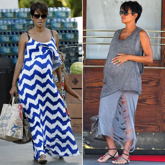 Wishing a Fond Farewell to Halle Berry's Perfect Maternity Style