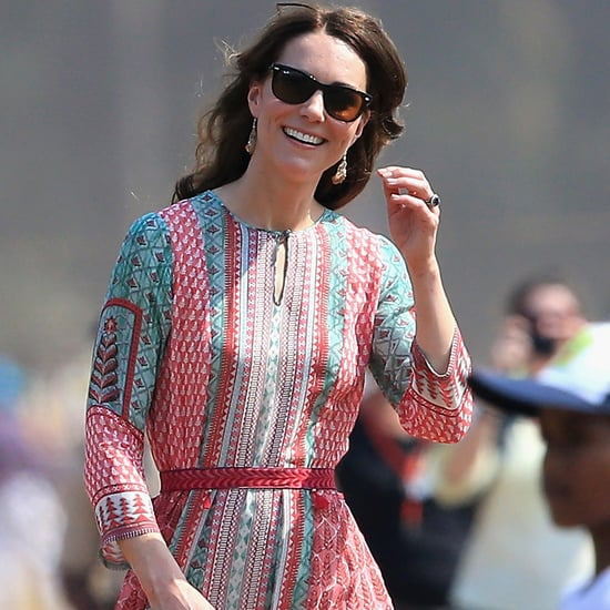 How The Duchess of Cambridge Altered Her Anita Dongre Dress