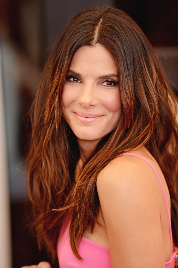 Out at the Venice Film Festival, Sandra Bullock went for perfectly tousled strands at the Gravity photocall.