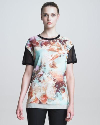 Jean Paul Gaultier Floral-Print T-Shirt