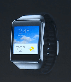 Samsung Gear Live available later today.