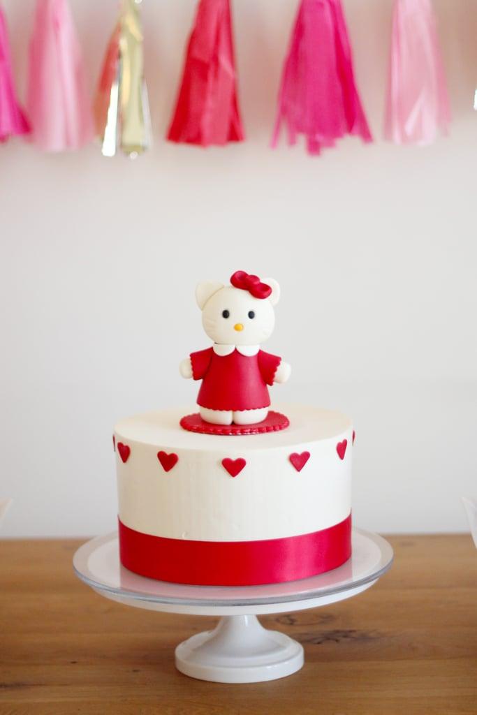 A Hello Kitty Cake