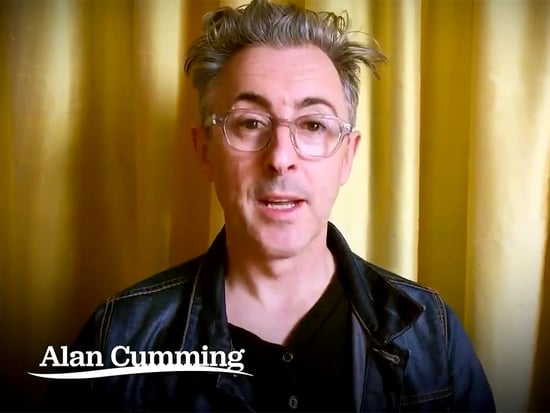 Stumping for Sanders: The Good Wife's Alan Cumming Formally Endorses Bernie
