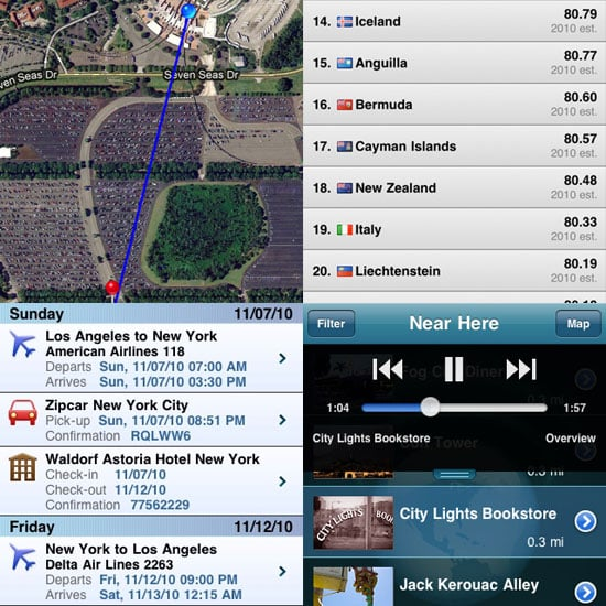 10 Best Travel iPhone Apps